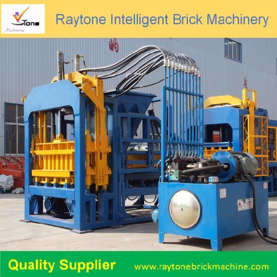 Good Quality Best Selling Automatic Concrete Brick Making Machine