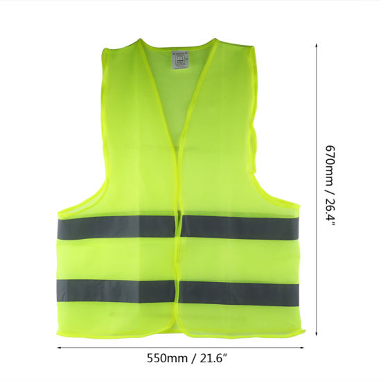 Safety Reflective Vest Visibility Night Running Jogging Security Clothing Hot