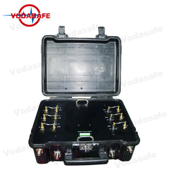RC5.8GHz/Gpsl1/Gpsl2/Gpsl5 Mobile Phone Signal Blocker with Six Antennas with 6 Signals