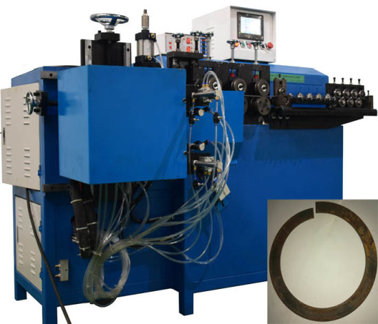 Automatic Metal Circular Tube Wire Ring Making and Butt-Joint Machine