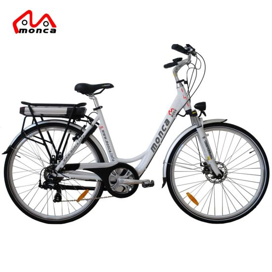 26 Inch Low Noise Middle Driven Motor City Electric Bike