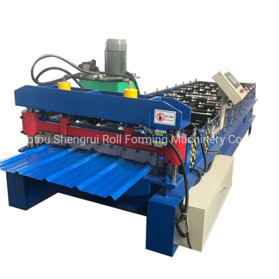 R Panel Roll Forming Machine for Sale/Metal Roof Panel Roll Forming Machine
