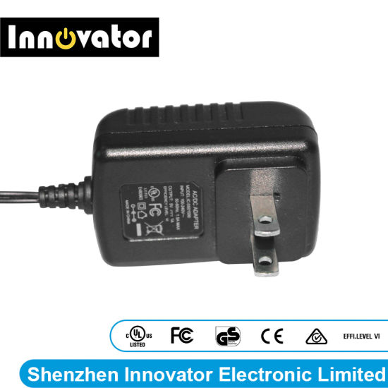 5V 1A 5W Wallmount Type AC DC Power Adapter, Certified by UL FCC Ce GS & SAA TUV