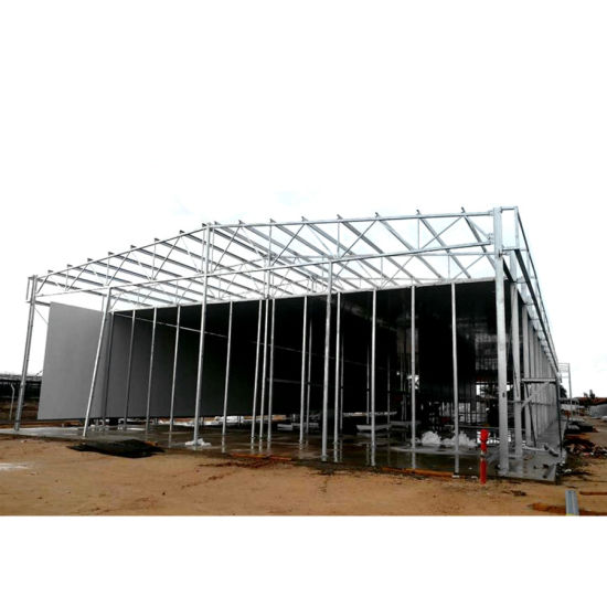 Metal Roof Steel Space Frame Workshops With Free Design Drawings China Modular Houses Fabric Steel Structure Made In China Com