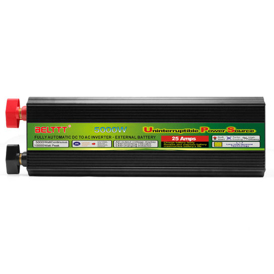 5000W DC AC Pure Sine Wave Car Solar Power Inverter with Charger & UPS