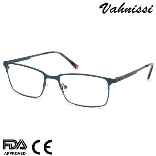 Ready Stock No MOQ Metal Alloy Eyewear Glasses Frame for Men