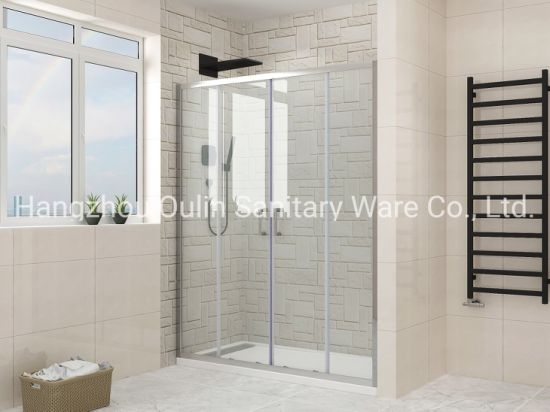 Bath and Shower Enclosures with Sliding Panels