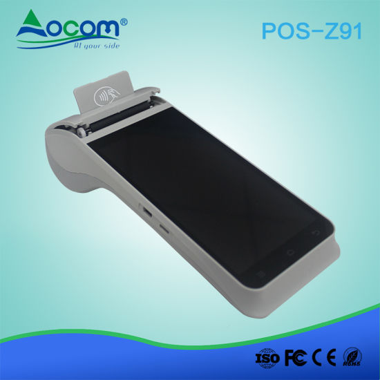 4G Android Mobile Wireless Data POS Terminal with Fingerprint Reader pictures & photos