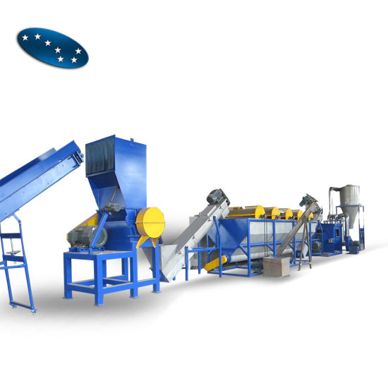 Professional Waste Plastic Film Recycling Washing Production Line