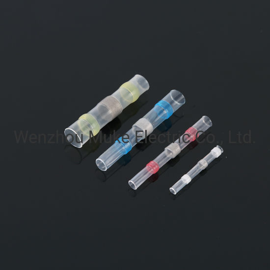 Solder Seal Insulated Waterproof Wire Terminal Connector Heat Shrink Butt Sleeve