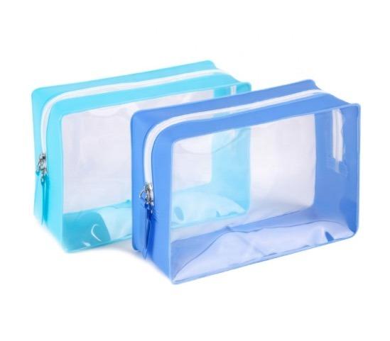 EVA/ PVC Zipper Waterproof Airline Cosmetic Makeup Travel Organizer/Bag