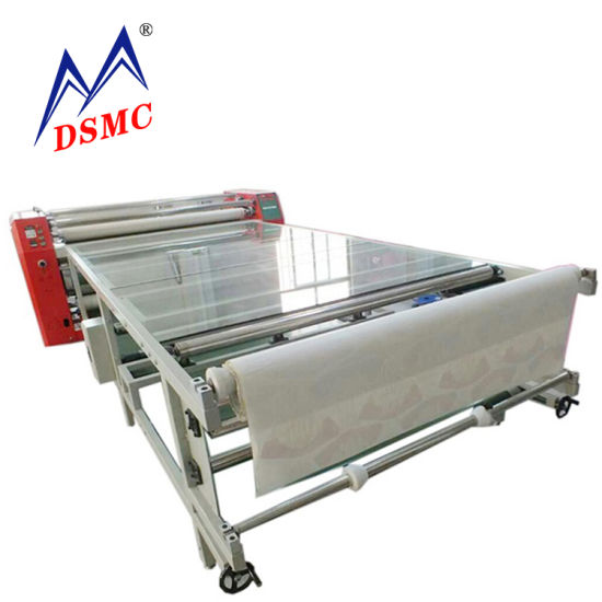 China Factory Roller Textile Heat Press Machine Oil Sublimation Machine