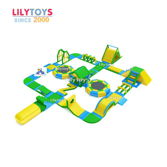 Lilytoys Top Quality Inflatable Water Park Aqua Park for Sale