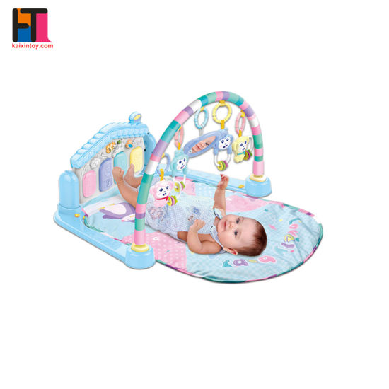 Reborn Infant Activity Mat Portable Soft Crawl Baby Play Mat with Piano pictures & photos