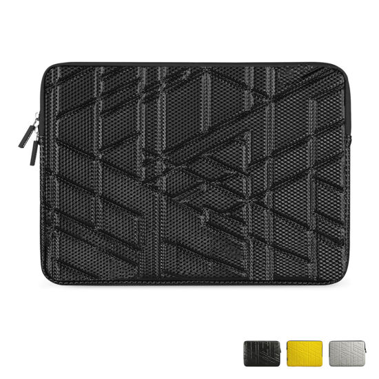 Custom New 3D Design Carbon Fiber Bag Nylon Laptop Sleeve Bag for MacBook PRO 13 Inch