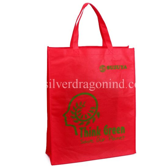 Custom Non-Woven Shopping Promotion Bag with Soft Loop Handle pictures & photos