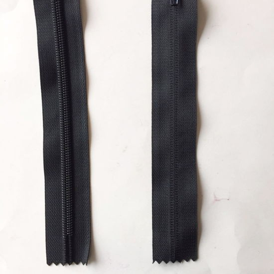 Nylon Zipper Reverse Inviaible Without Stops 21cm