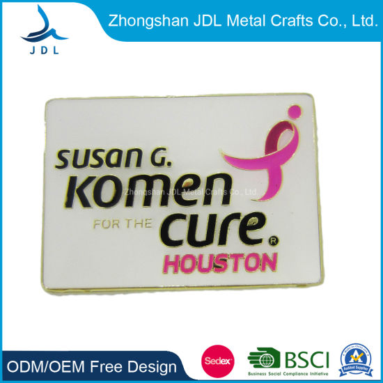Sug College Pin Badge in Custom From China with Competitive Pricecustomized  Badge in Special Style From China with Metal Color (312)