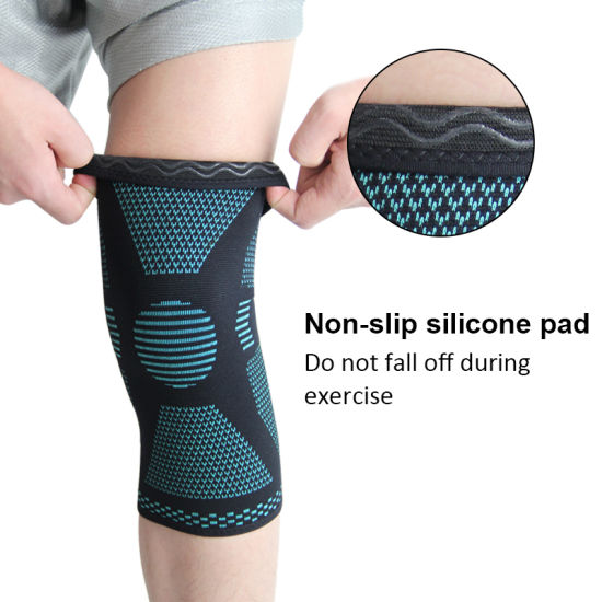 China Adjustable Compressed Weightlifting Knee Brace Support Sleeve China 7mm Neoprene Knee Sleeves And Knee Sleeve Compression Price