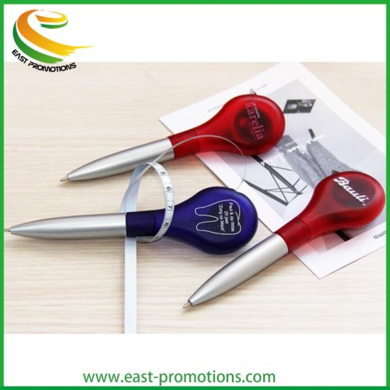 Custom Logo Printed Tool Ballpoint Pen with Tape Measure for Promotion pictures & photos