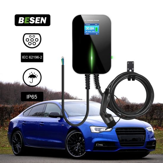 IEC 62196-2 32A 7kw Charging Point for Electric Vehicle 20 Feet