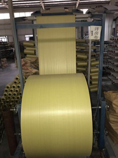 PP Woven Tubular Fabric Cloth in Roll Woven Polypropylene Bags /Woven Bag/Cement Bags/Rice Bags/Agriculture Bags/Construction Bags