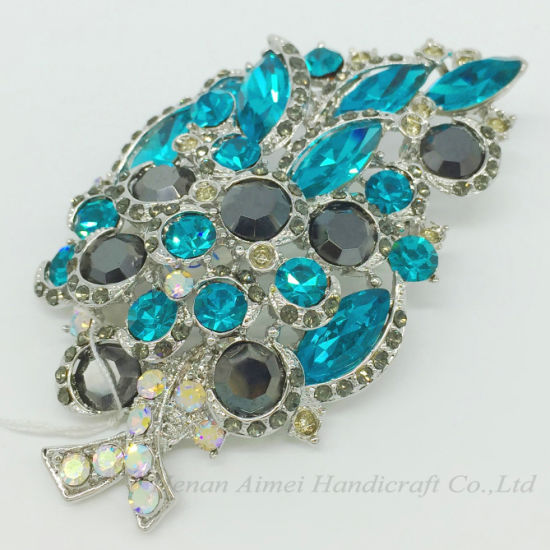 3d68f37bc Wholesale Fashion Jewelry Accessories Elegant Charming Crystal Brooch for  Wedding