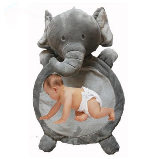 Baby Crawling Mat Elephant Plush Animal Toys