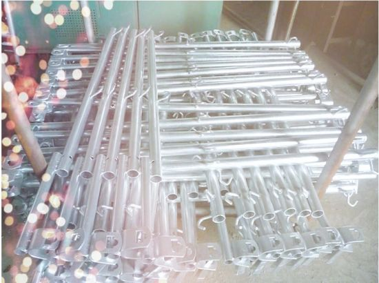 Frame Scaffolding Accessories Guard Rail Post for Construction pictures & photos