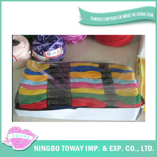 Wholesale Manufacturer Nylon Polyester Embroidery Thread