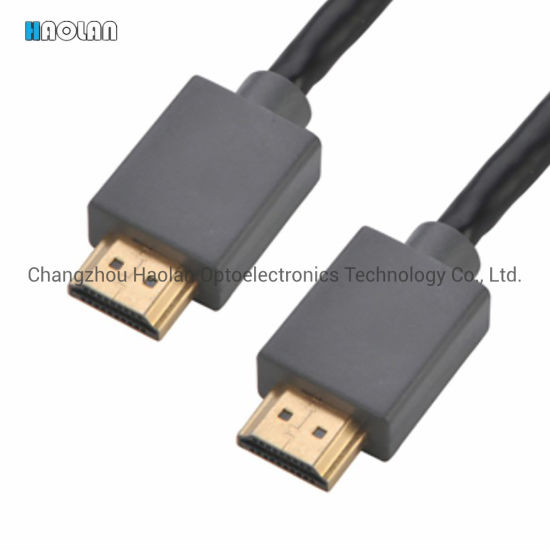 High Speed HDMI Cable Series for TV Computer Monitor and Player HDMI Cable Male to Male Slim