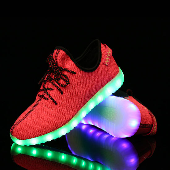 Dance Shoes, LED Light Running Shoes