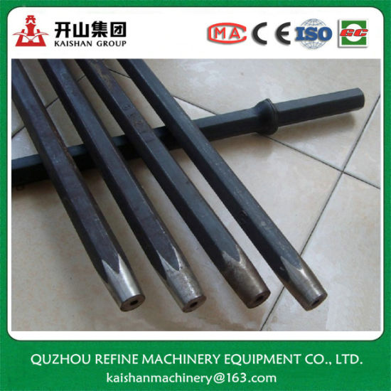 B25 1meter Tapered Drill Rod for Quarry Drilling pictures & photos