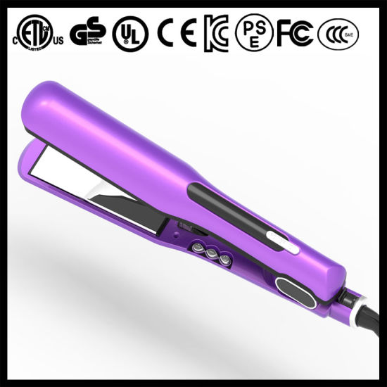450f 1 1/2 Inch Ceramic Ionic Hair Straightener (V183) pictures & photos