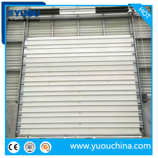 Industrial Thermal Insulated Overhead Sectional Door for Warehouse