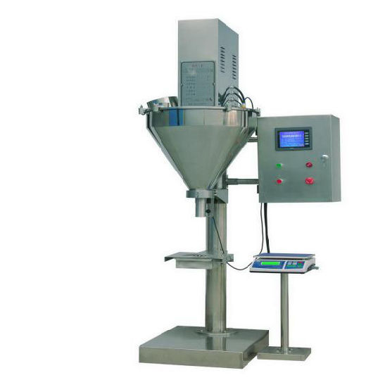Semi-Automatic Weighing Filling Machine for Milk Powder, Protein Powder etc. pictures & photos