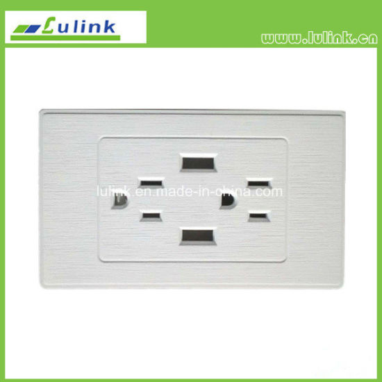 Upgrade North America AC Power Socket with 2 USB Wall Socket Outlets Mobile Phone Wall Charger pictures & photos