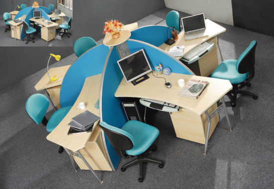 Modern Modular Workstation Partition Office Furniture pictures & photos