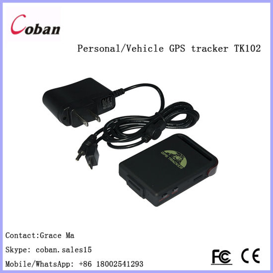 Mini Car Vehicle Tracker GPS Real time GPS//SMS//GPRS Tracking Device TK102-2 GN#