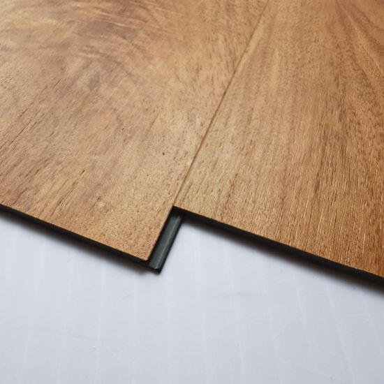 Plastic Click Clear Pvc Wood Look Spc