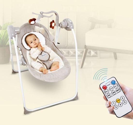 2017 Wholesale Multifunctional Baby Electric Swing Chair with European Standard pictures & photos