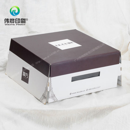 Customized Paper Gift Packaging Cake Box Printing pictures & photos