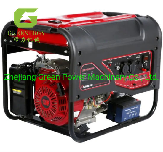 Original Kingmax 2kVA 5kw Portable Power Gasoline Generator Set with Honda Engine 188f pictures & photos