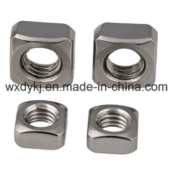 Stainless Steel 304 316 Square Nut