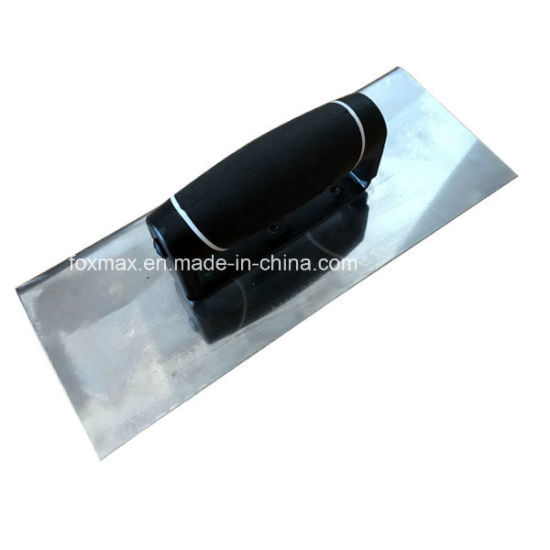 High Quality Stainless Steel Plastering Trowel with TPR Handle Fpt16 pictures & photos