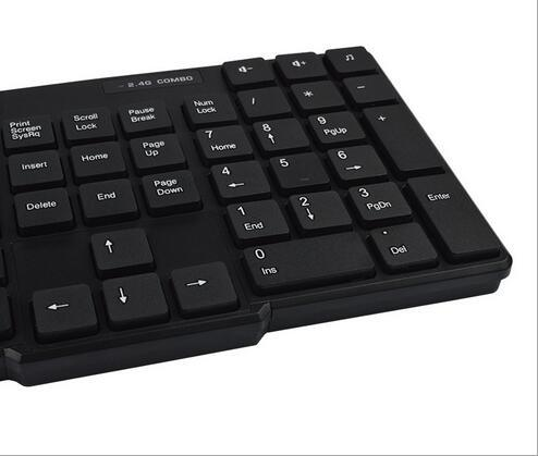 Chocolate Precision 2.4G Wireless Optical Technology Keyboard and Mouse Set pictures & photos