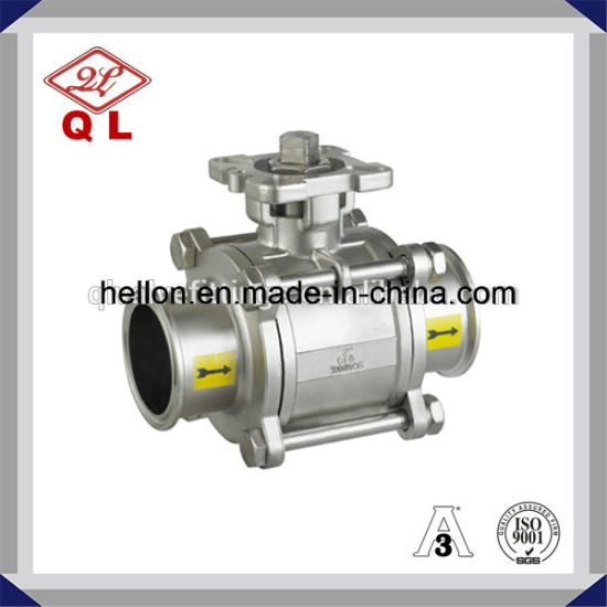 Stainless Steel Threaded Ball Valve pictures & photos