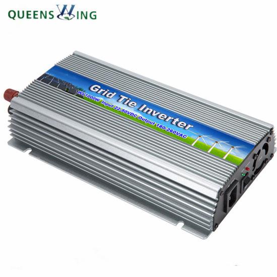 1000W 22-50VDC to 90-260V Pure Sine Wave Grid Tie Micro Inverter For MPPT Solar