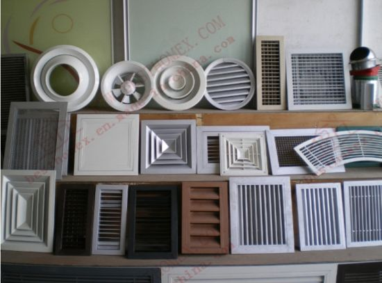 Adjustable UPVC/Plastic ABS Louvers Air Vent (BHP-SCW06) pictures & photos