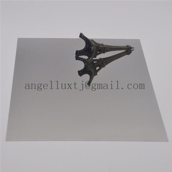 Gray Color Decorative Stainless Steel Sheet 304 Polished Steel Panel pictures & photos